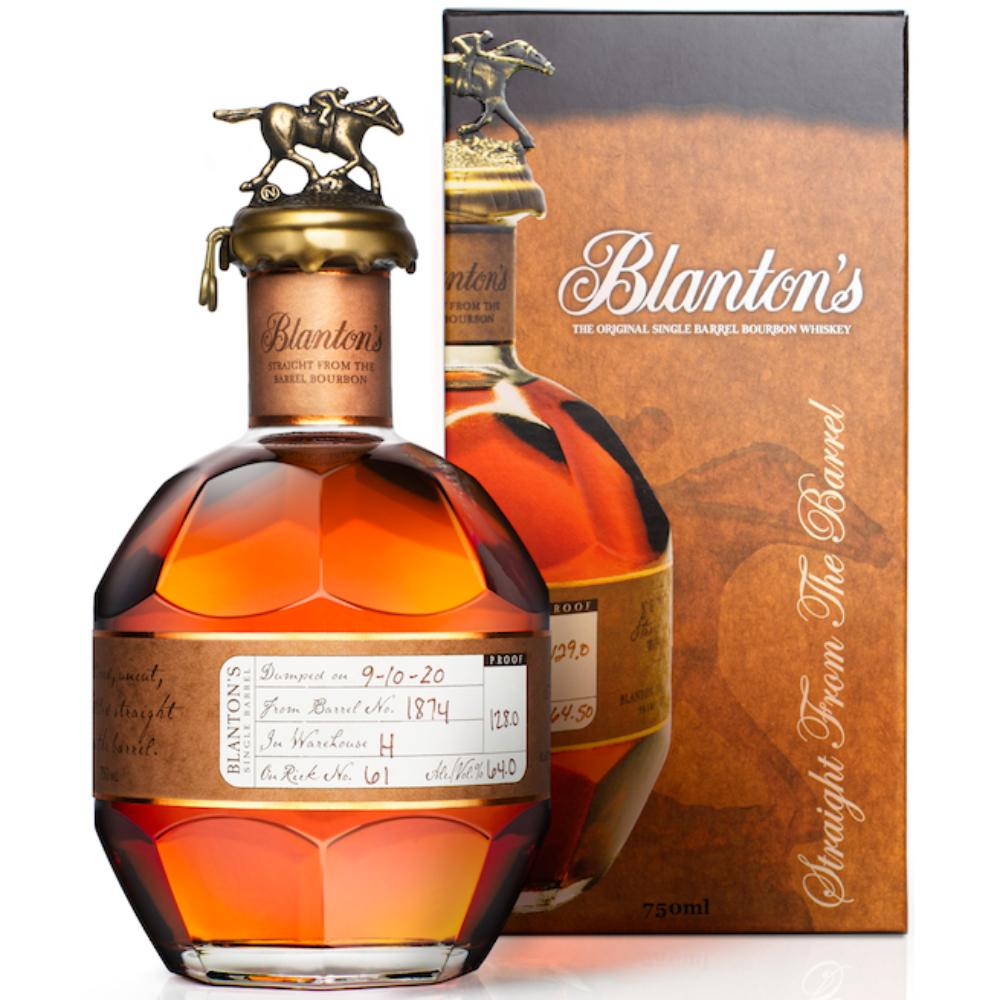Blanton's Straight From The Barrel Bourbon Blanton's Bourbon