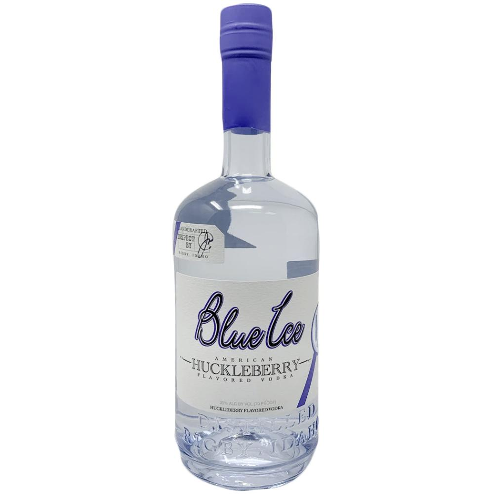 Blue Ice Huckleberry Flavored Vodka Vodka Blue Ice