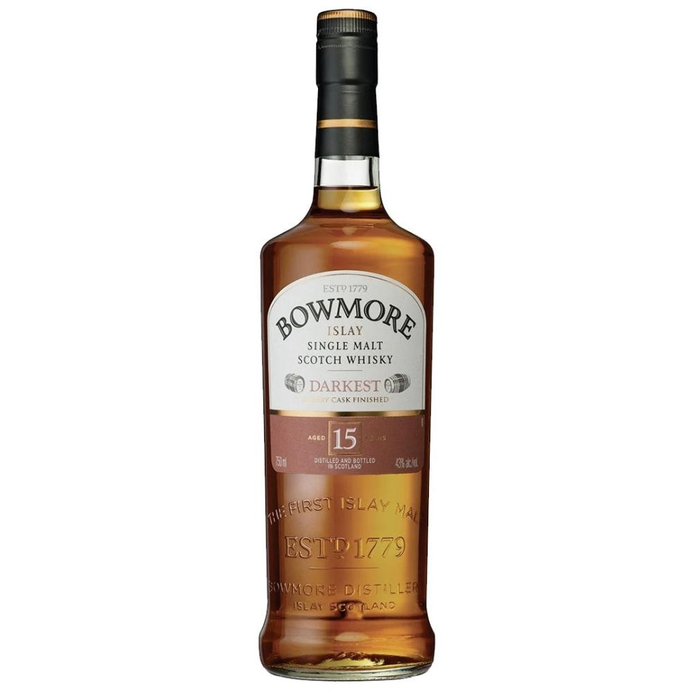 Bowmore 15 Year Islay Single Malt Scotch Whisky Scotch Bowmore