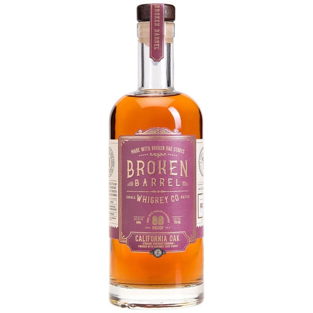 Broken Barrel California Oak Bourbon Bourbon Broken Barrel Whiskey