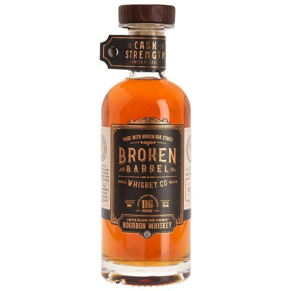 Broken Barrel Cask Strength Bourbon Bourbon Broken Barrel Whiskey