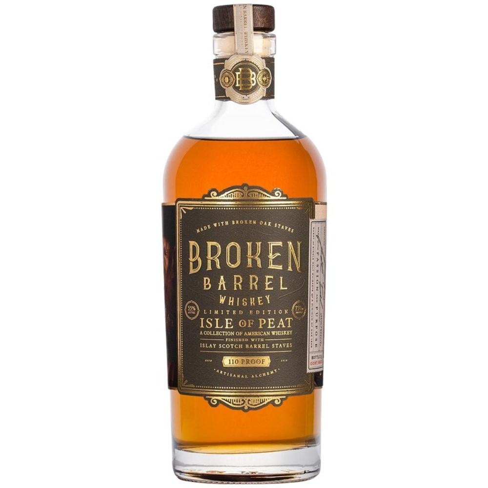 Broken Barrel Single Oak Isle of Peat American Whiskey Broken Barrel Whiskey