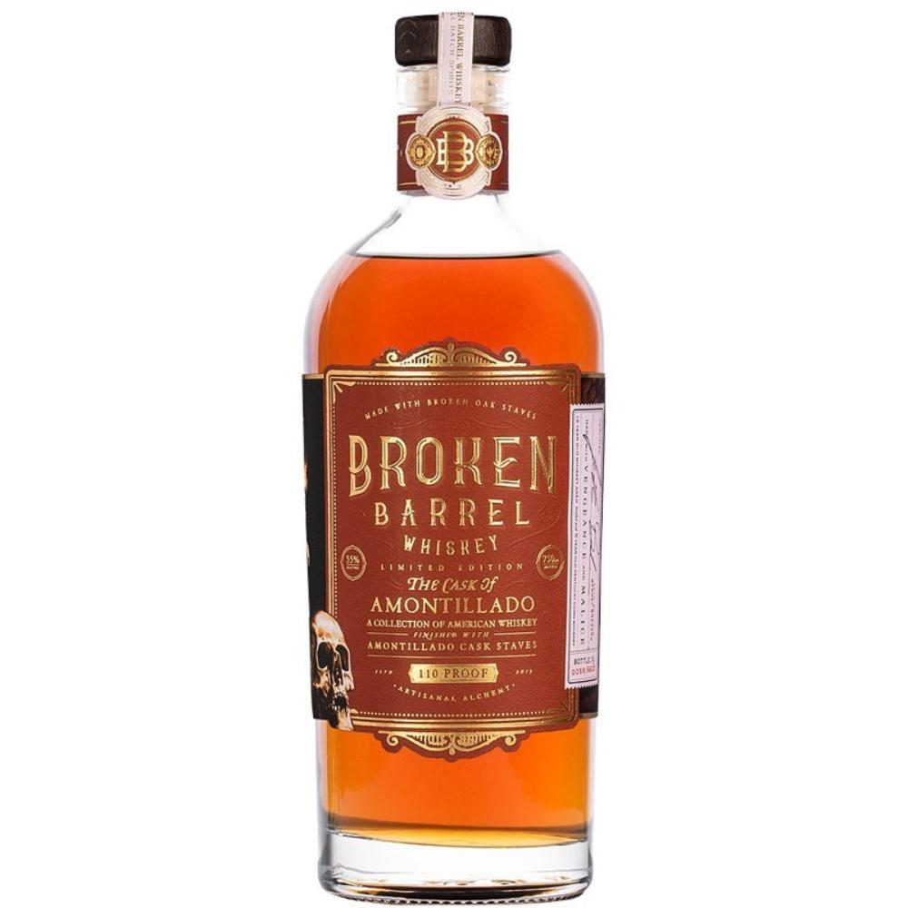 Broken Barrel Single Oak The Cask of Amontillado American Whiskey Broken Barrel Whiskey