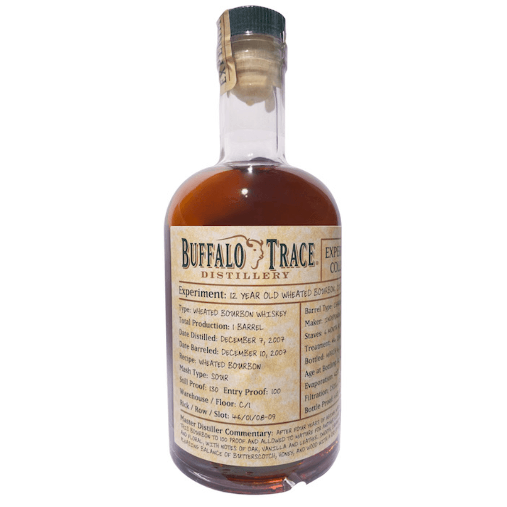 Buffalo Trace Experimental 12 Year Old Wheated Bourbon Bourbon Buffalo Trace