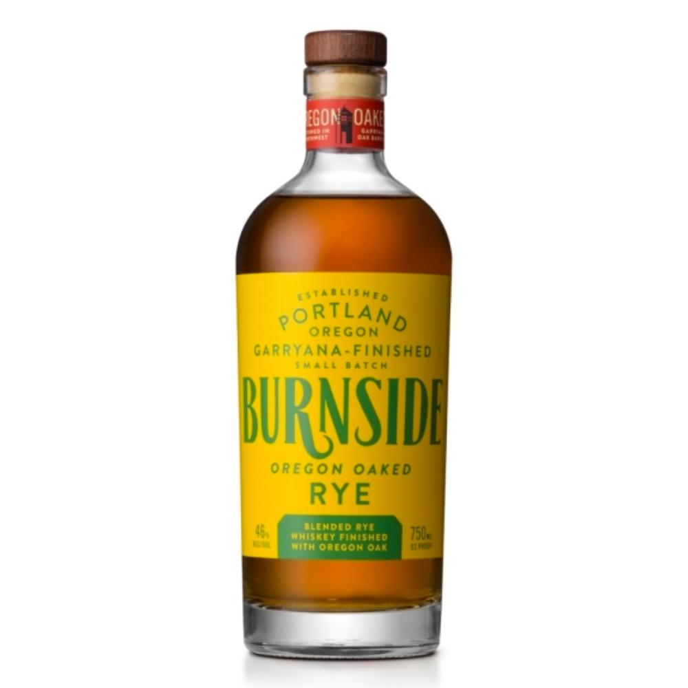 Burnside Oregon Oaked Rye Whiskey Rye Whiskey Burnside Whiskey
