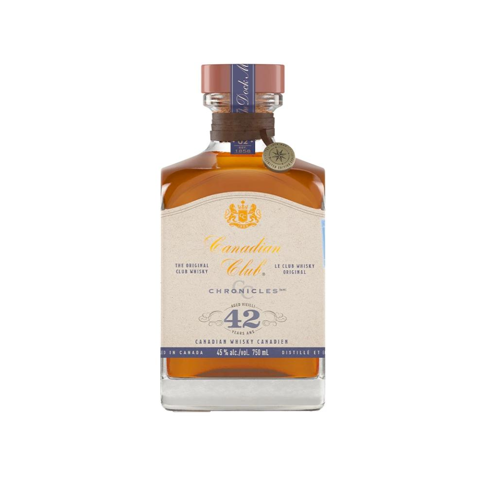 Canadian Club Chronicles 42 Year Old Canadian Whisky Canadian Club Whisky