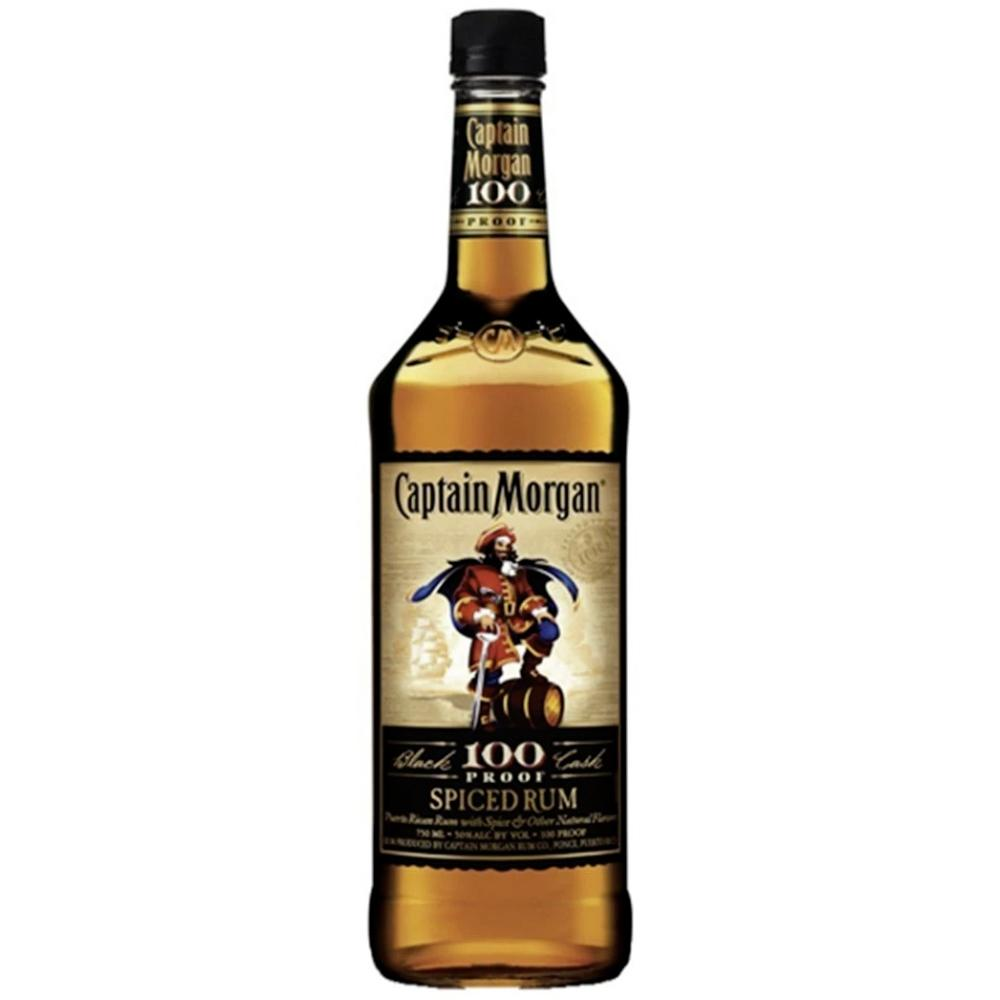 Captain Morgan Black Cask 100 Proof Spiced Rum Rum Captain Morgan