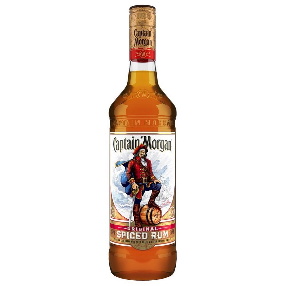 Captain Morgan Original Spiced Rum 1.75 Liters Rum Captain Morgan