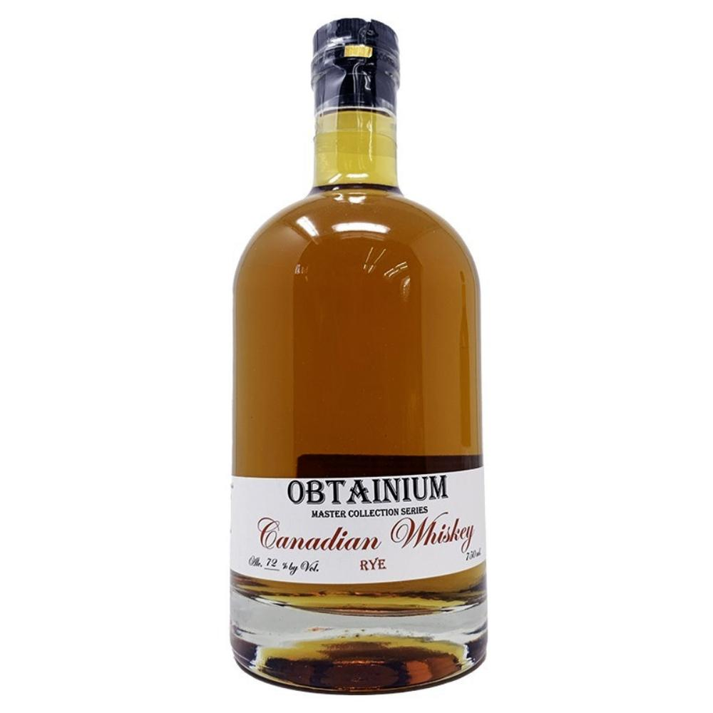 Cat's Eye Distillery Obtainium 14 Year Old Canadian Rye Rye Whiskey Cat's Eye Distillery