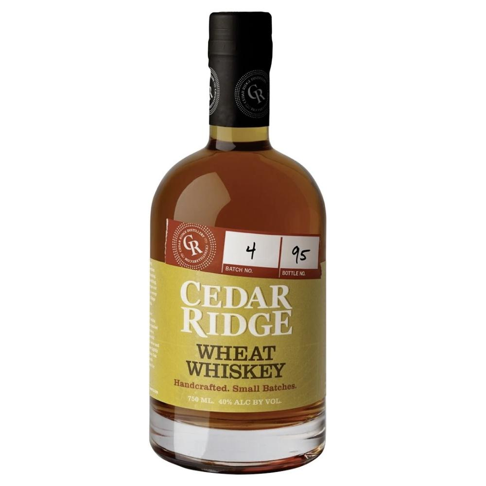 Cedar Ridge Wheat Whiskey American Whiskey Cedar Ridge Distillery