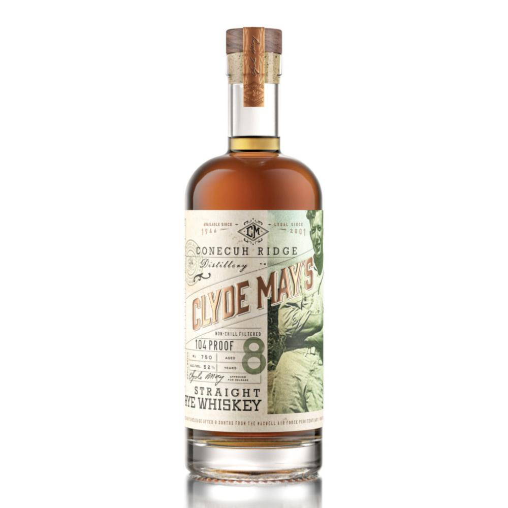 Clyde May's 8 Year Old Straight Rye Whiskey Rye Whiskey Clyde May's