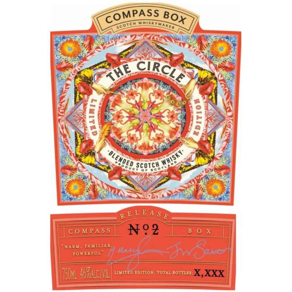 Compass Box The Circle No. 2 Scotch Compass Box
