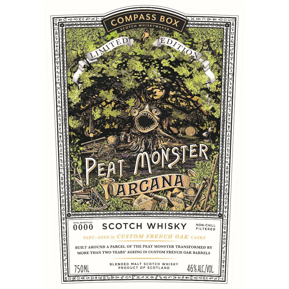 Compass Box The Peat Monster Arcana Scotch Compass Box