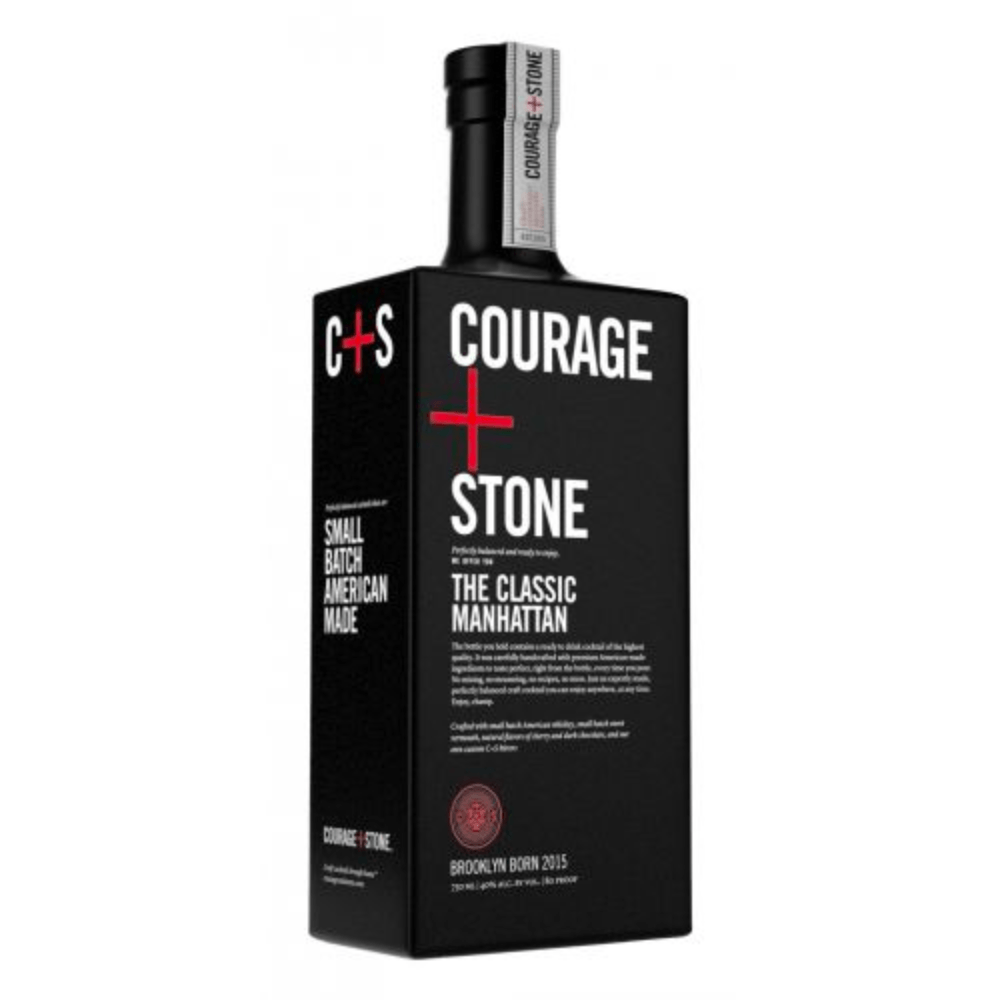 Courage+Stone The Classic Manhattan Ready-To-Drink Cocktails Courage+Stone