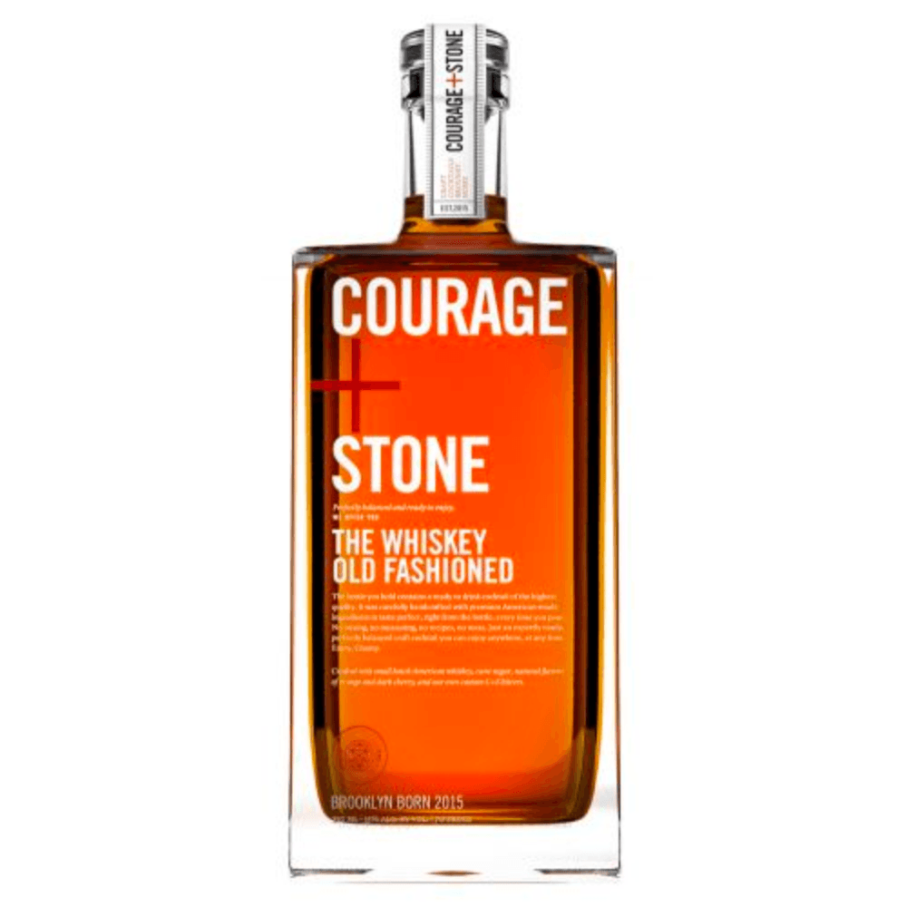 Courage+Stone The Classic Old Fashioned Ready-To-Drink Cocktails Courage+Stone