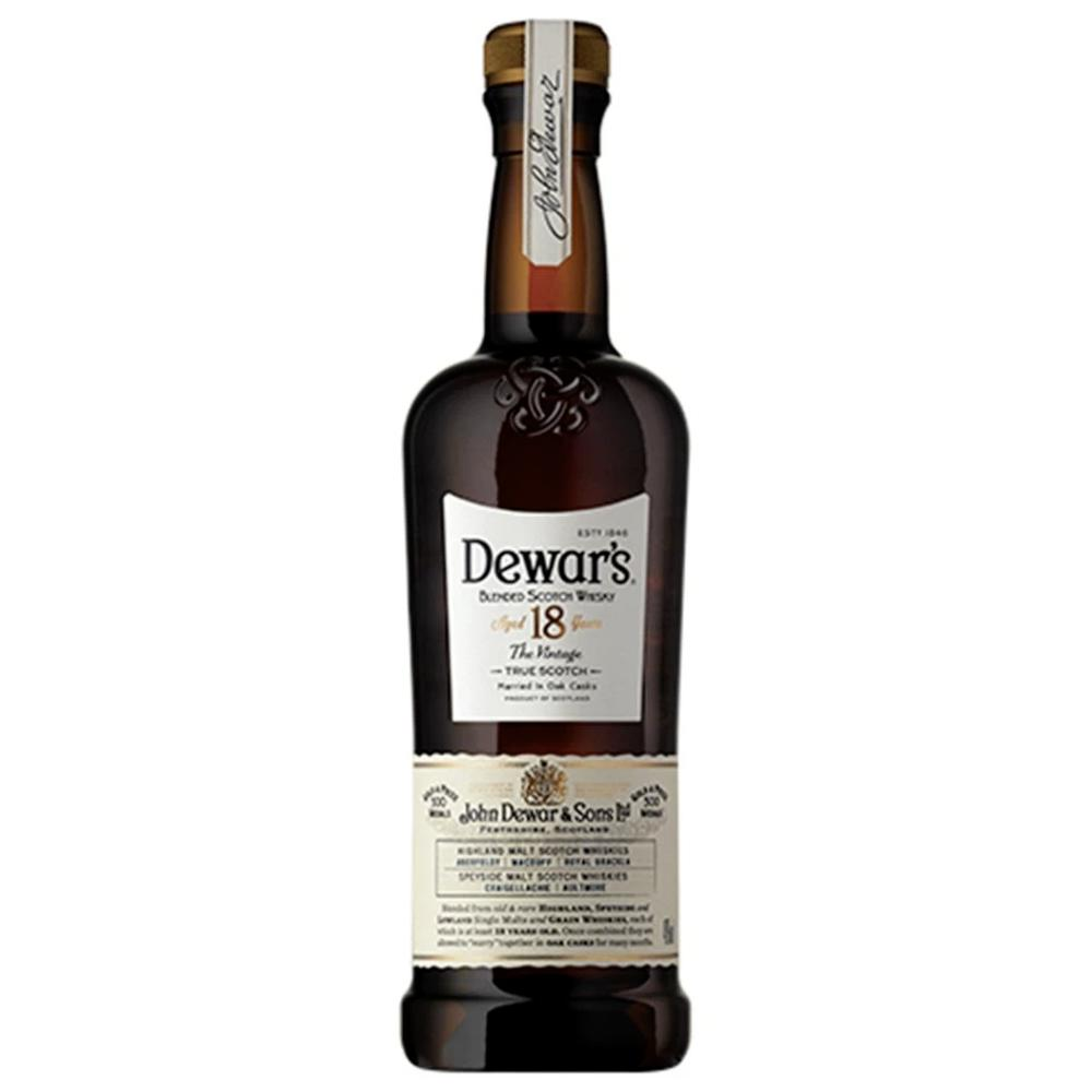 DEWAR'S 18 Year Old Scotch Dewar's