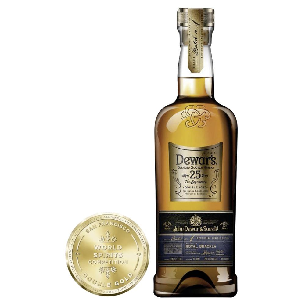 DEWAR'S 25 Year Old Scotch Dewar's