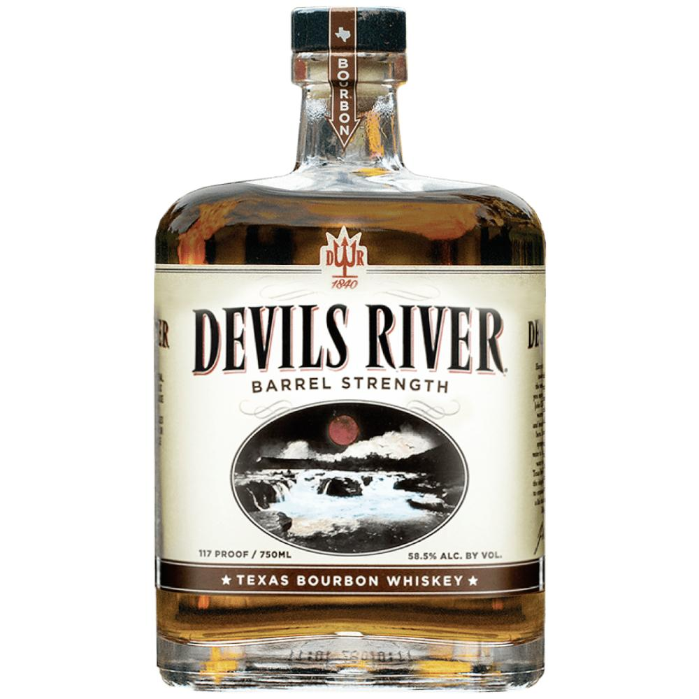 Devils River Barrel Strength Bourbon Bourbon Devils River Whiskey