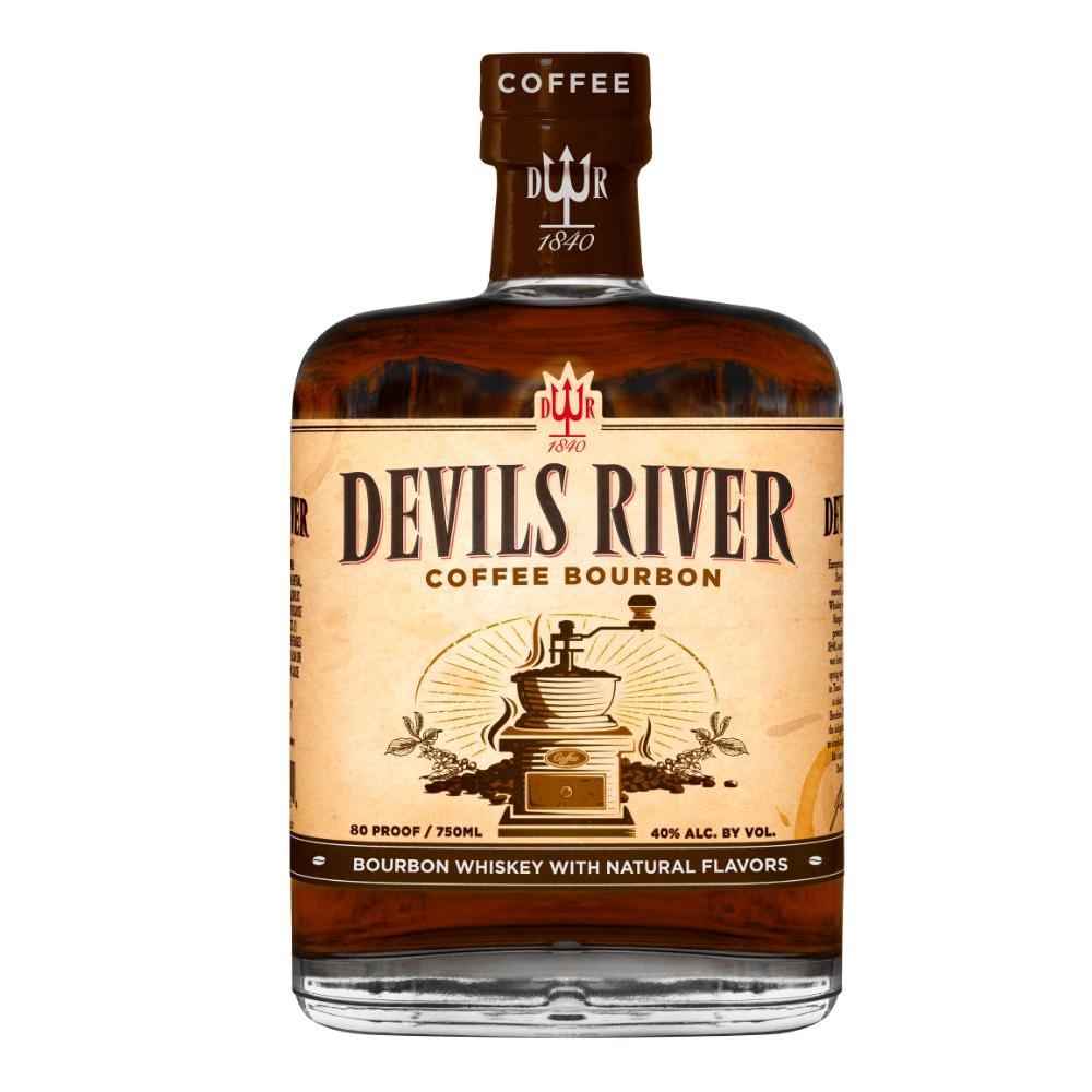 Devils River Coffee Bourbon Whiskey Bourbon Devils River Whiskey