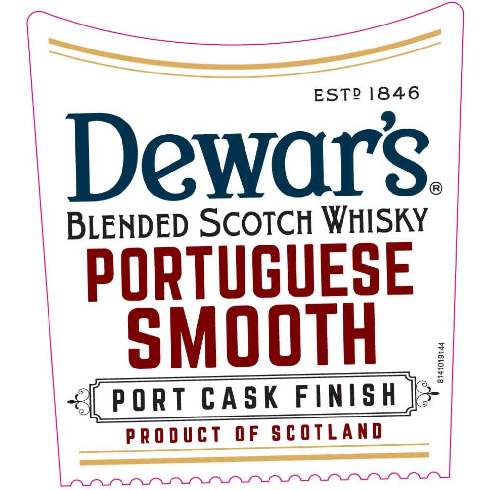 Dewar's Portuguese Smooth Port Cask Finish Scotch Dewar's