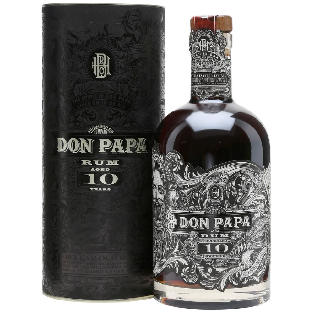 Don Papa 10 Year Small Batch Rum Don Papa Rum
