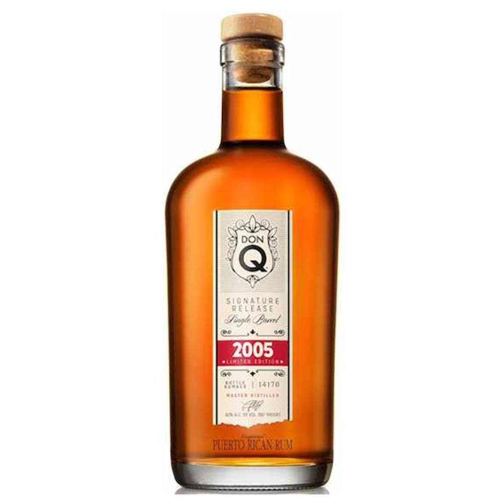 Don Q 2005 Signature Release Single Barrel Rum Rum Don Q