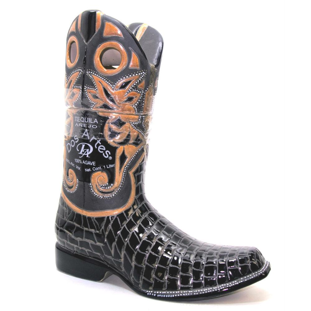 Dos Artes Anejo Tequila Limited Edition Boot Bottle 1 Liter Tequila Dos Artes