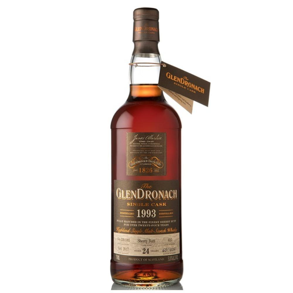 GlenDronach Single Cask #415 24 Year Old Scotch Glendronach