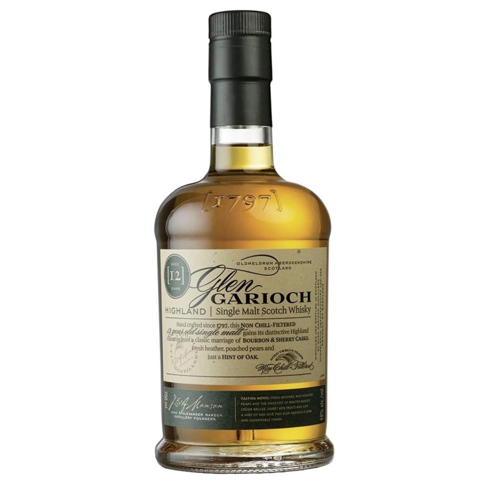 Glen Garioch 12 Year Highland Single Malt Scotch Scotch Glen Garioch
