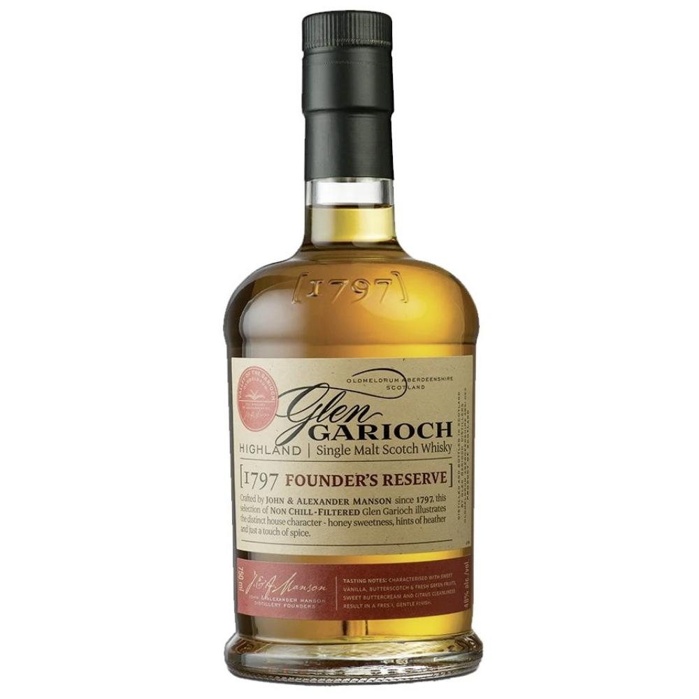 Glen Garioch Founders Reserve Highland Single Malt Scotch Scotch Glen Garioch