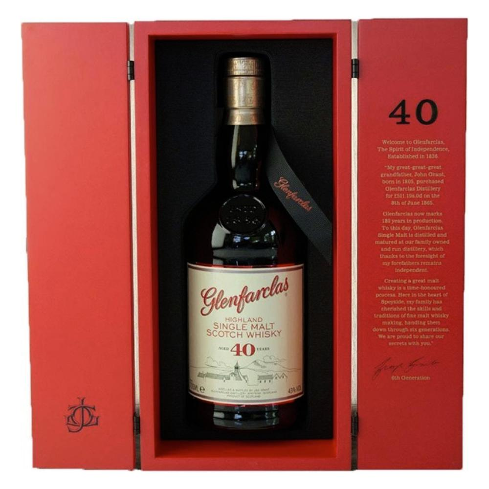 Glenfarclas 40 Year Single Malt Scotch Scotch Glenfarclas
