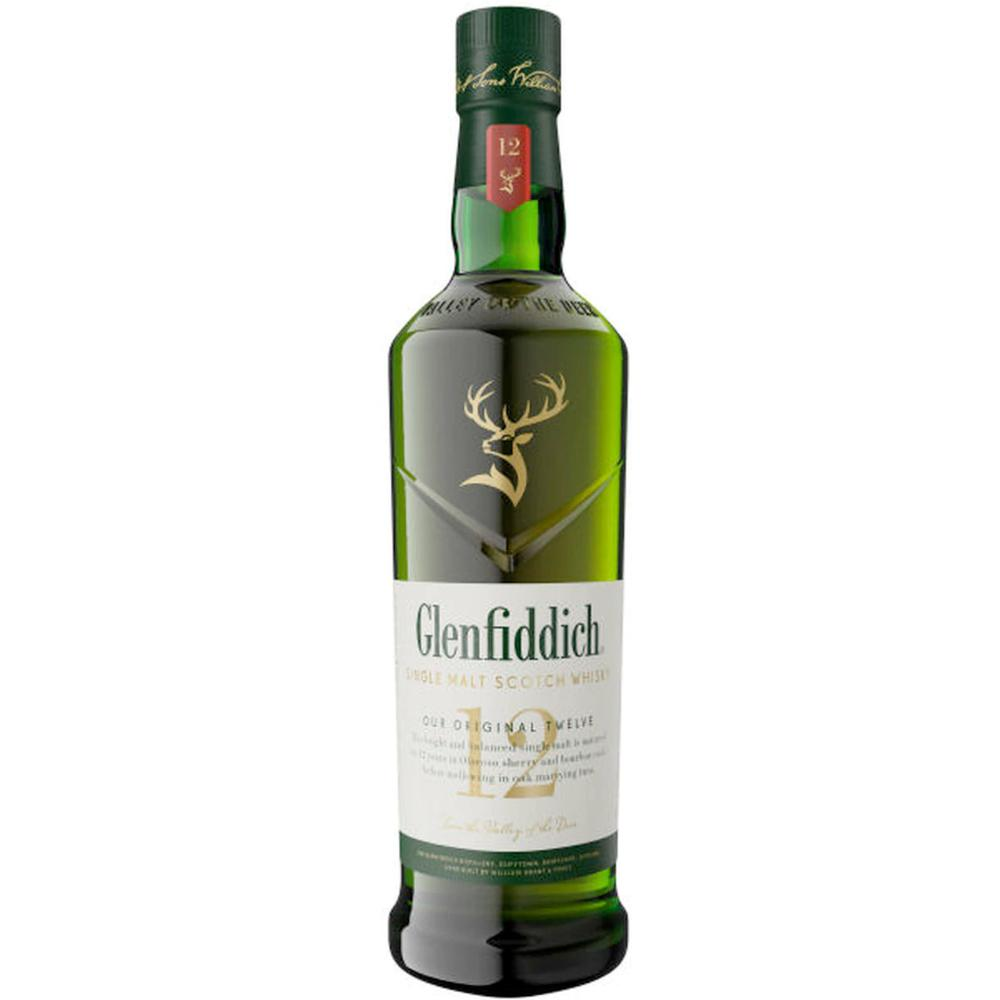 Glenfiddich 12 Year Old Scotch Glenfiddich
