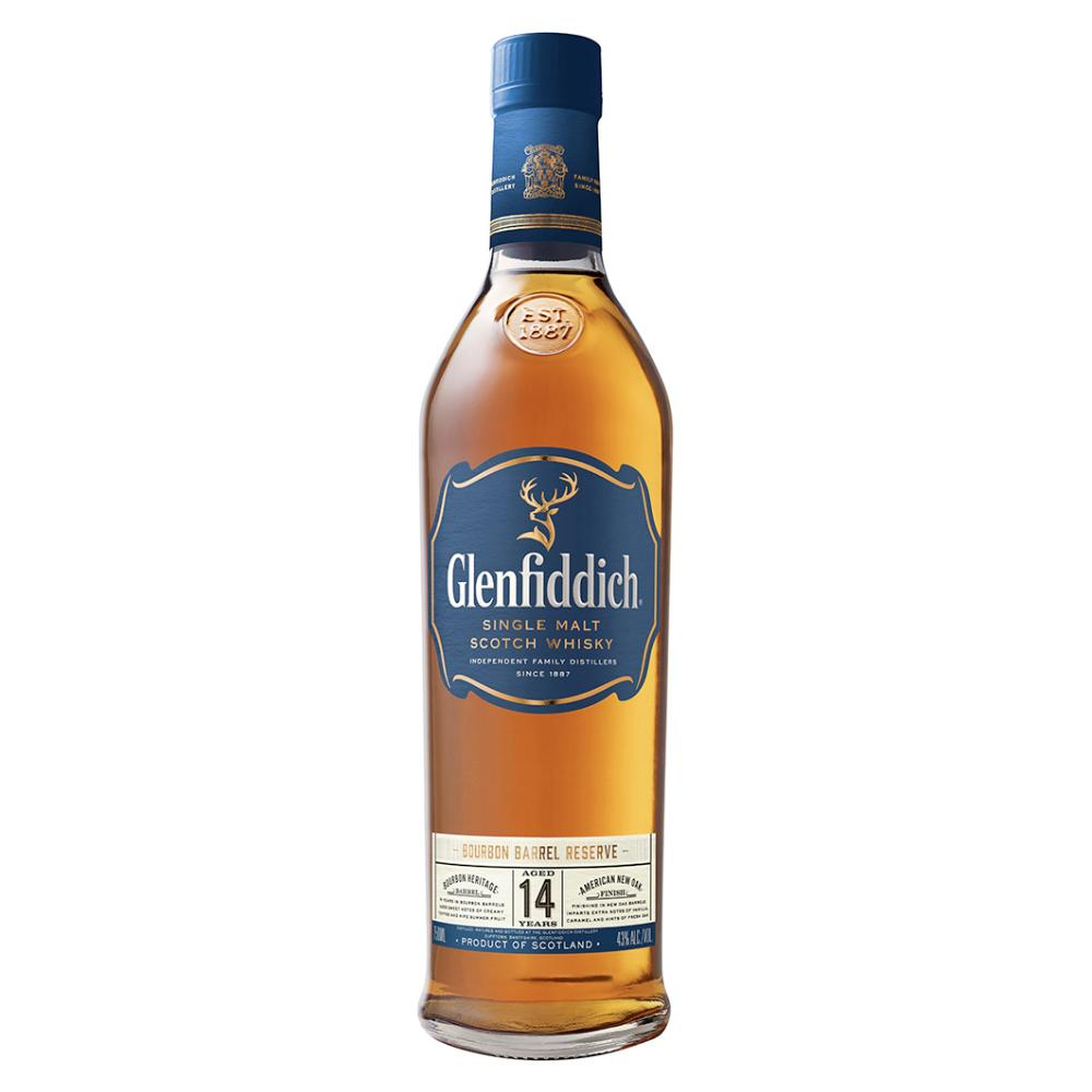 Glenfiddich 14 Year Old Bourbon Barrel Reserve Scotch Glenfiddich