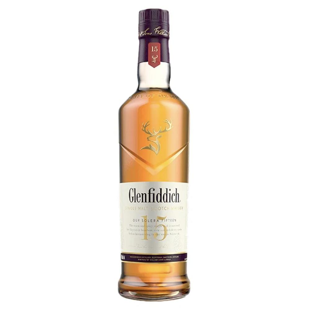 Glenfiddich 15 Years Old Scotch Glenfiddich