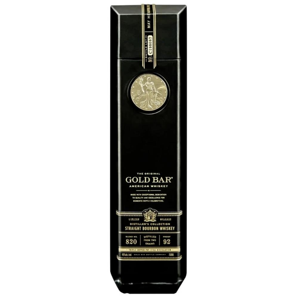 Gold Bar Black Double Cask Bourbon American Whiskey Gold Bar