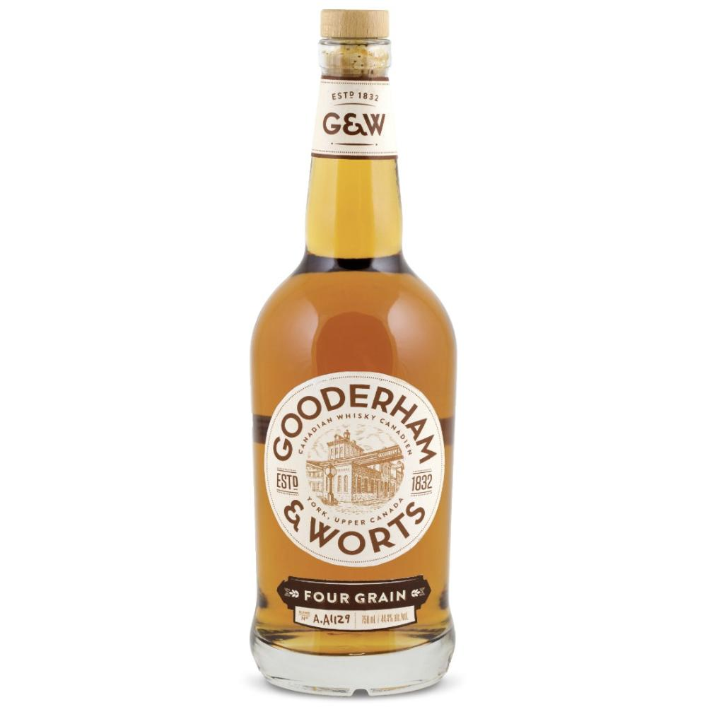 Gooderham & Worts Four Grain Whisky Canadian Whisky Gooderham & Worts
