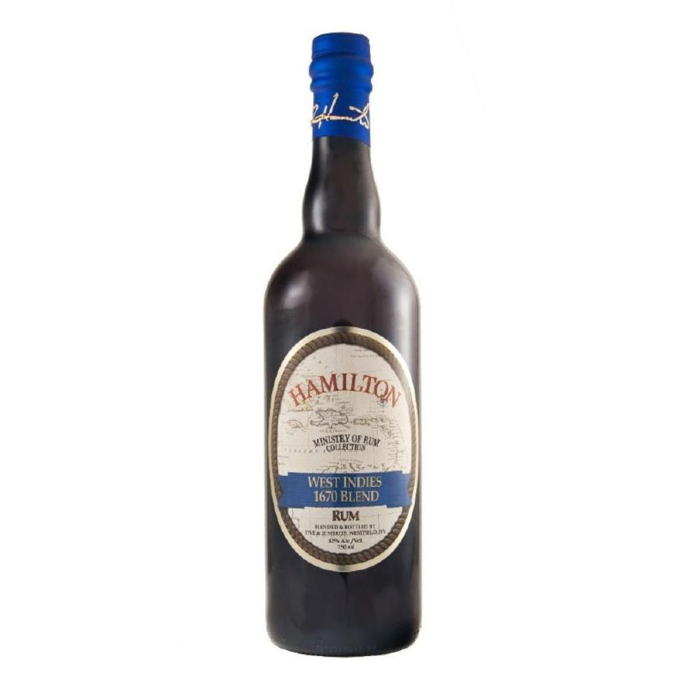 Hamilton West Indies 1670 Blend Rum Hamilton
