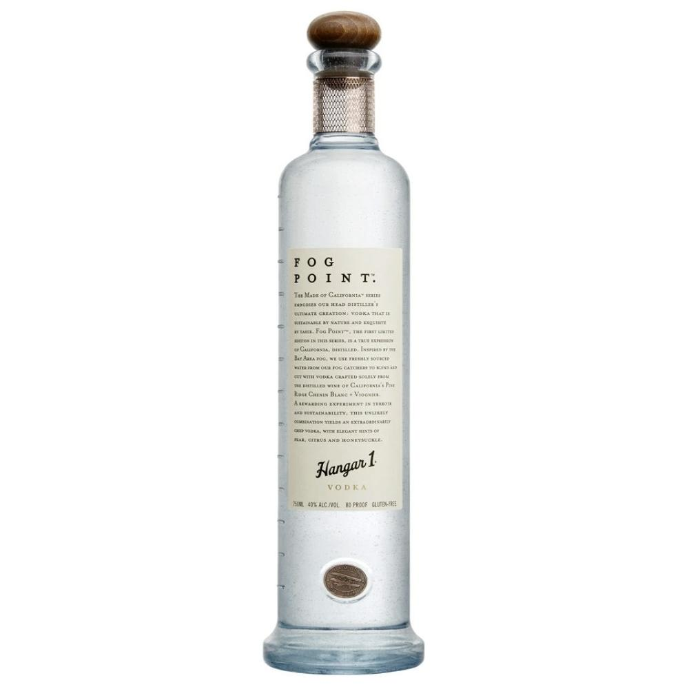Hangar 1 Fog Point Vodka Vodka Hangar 1 Distillery