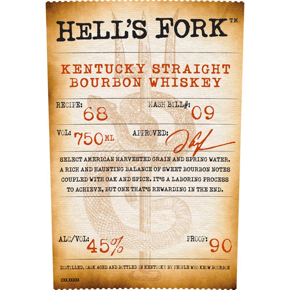 Hell's Fork Bourbon Hell's Fork
