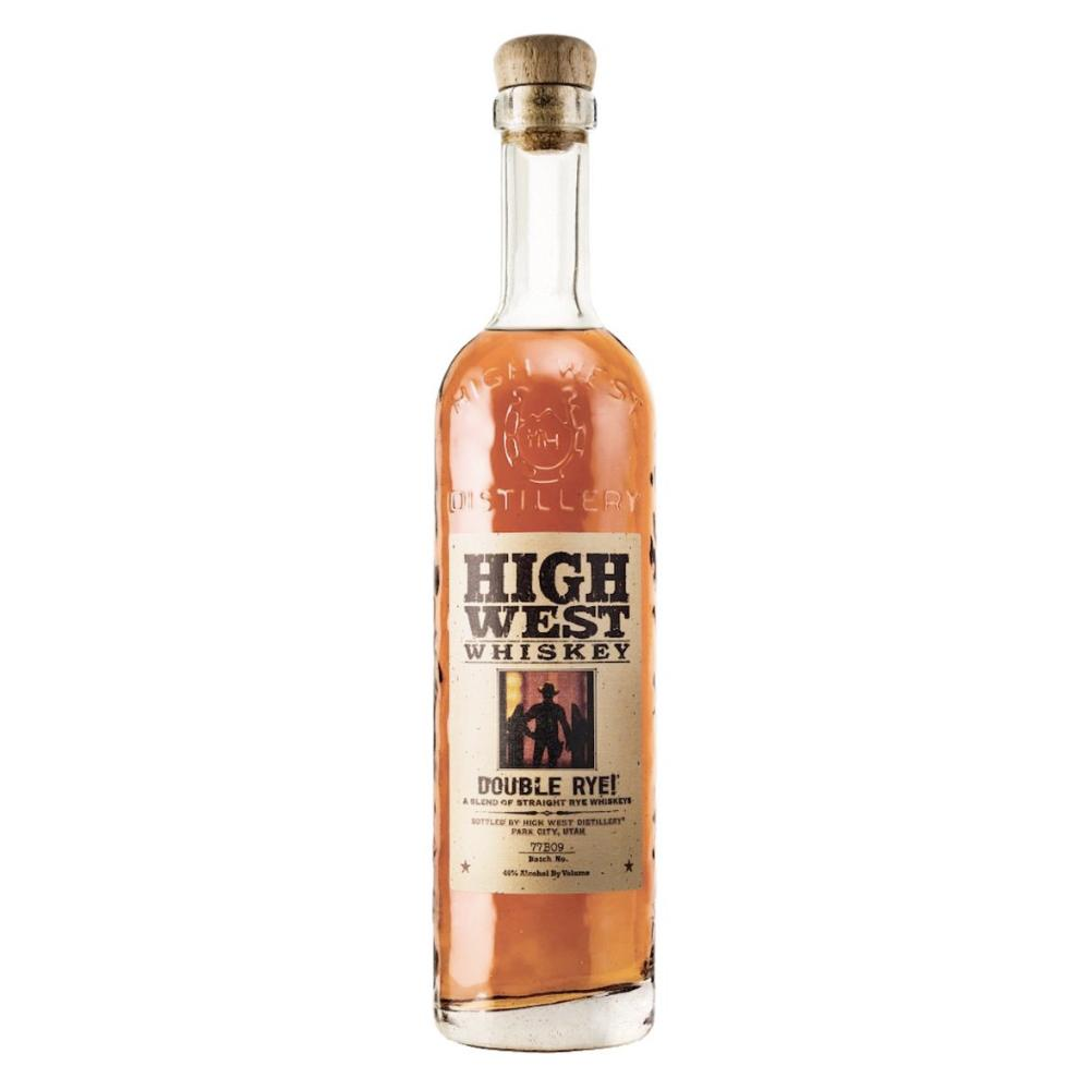 High West Double Rye! Rye Whiskey High West Distillery