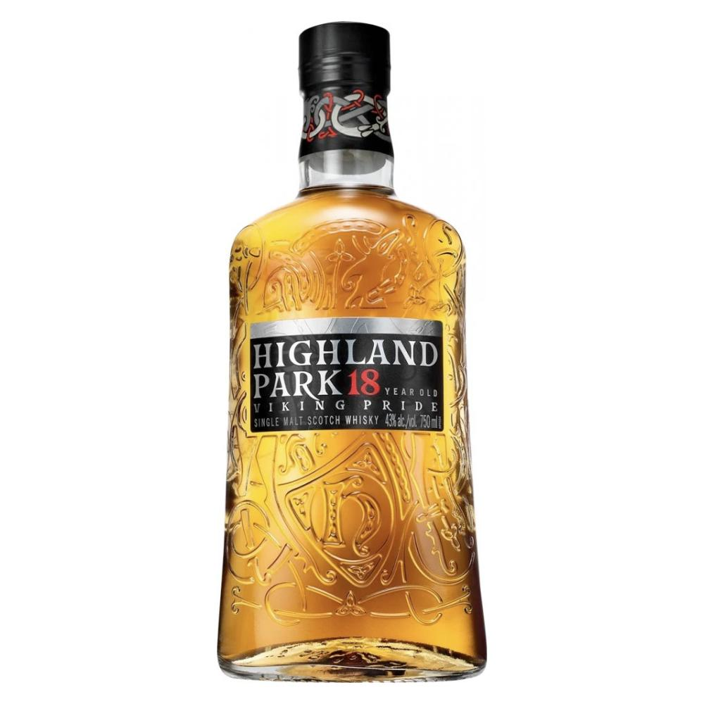 Highland Park 18 Year Old Viking Pride Scotch Highland Park