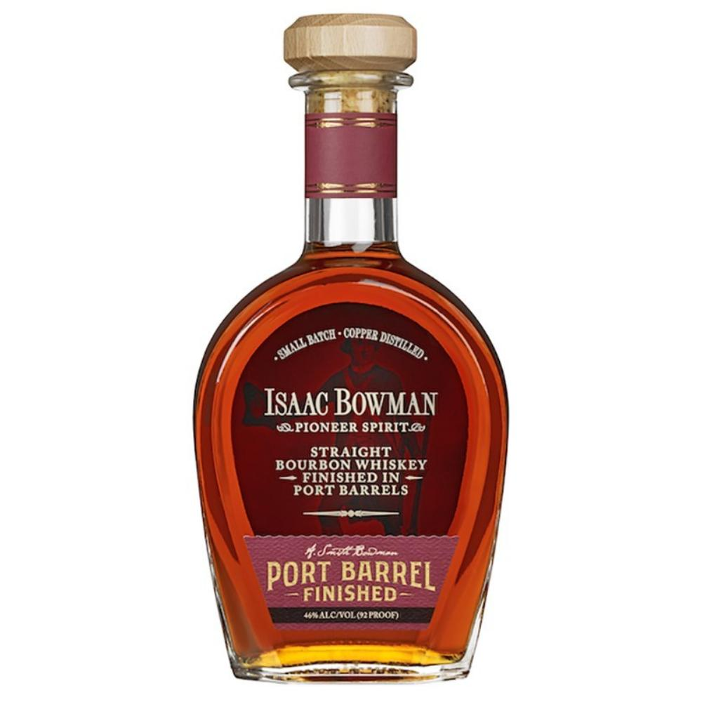 Isaac Bowman Port Barrel Finished Bourbon Whiskey American Whiskey A. Smith Bowman