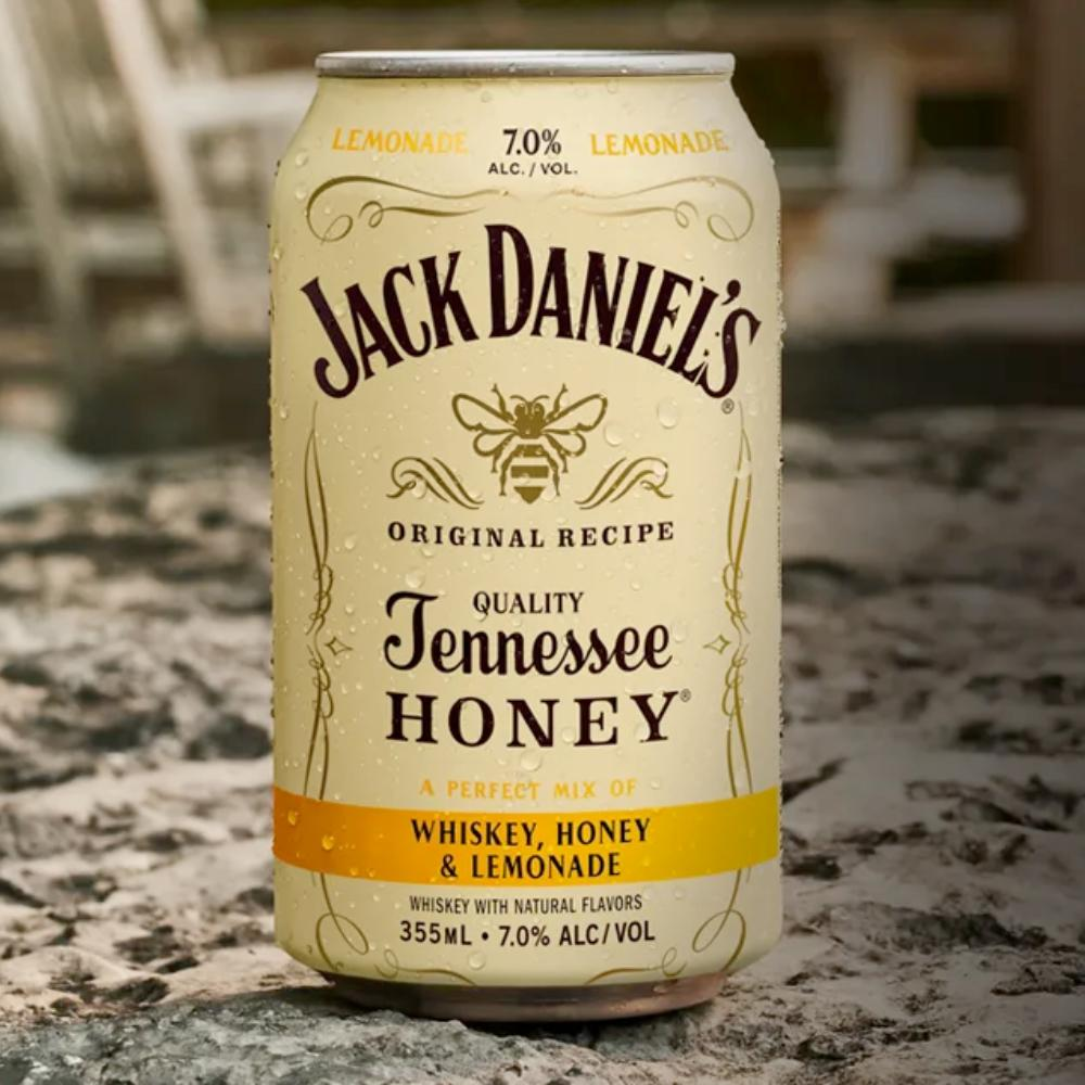 Jack Daniel's Whiskey, Honey & Lemonade Canned Cocktails Jack Daniel's