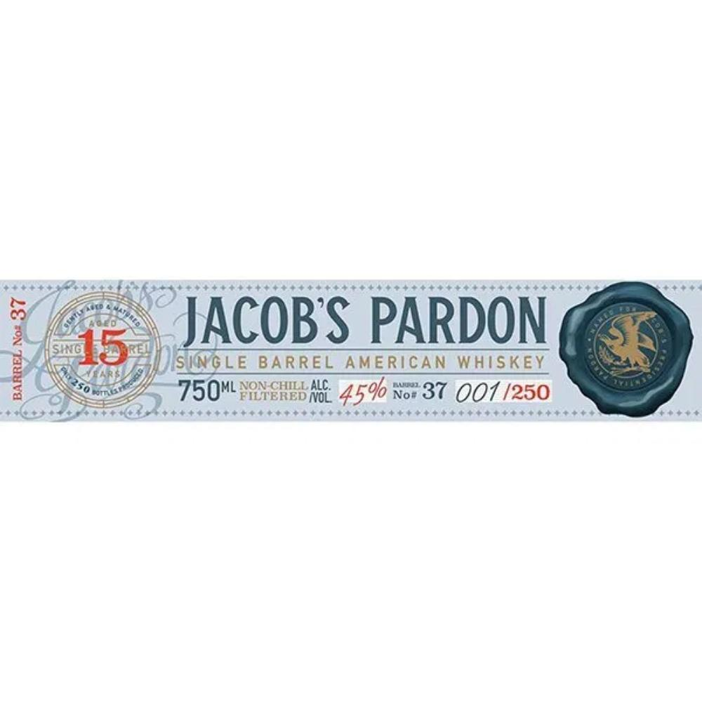 Jacob's Pardon 15 Year Old Single Barrel American Whiskey American Whiskey Jacob's Pardon