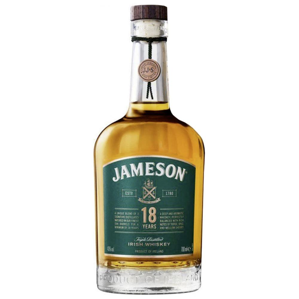 Jameson 18 Years Irish whiskey Jameson