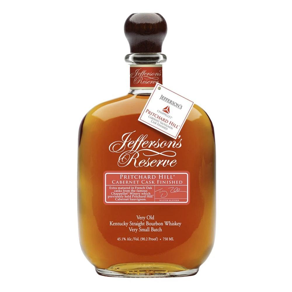 Jefferson's Pritchard Hill Cabernet Cask Finished Bourbon Jefferson's