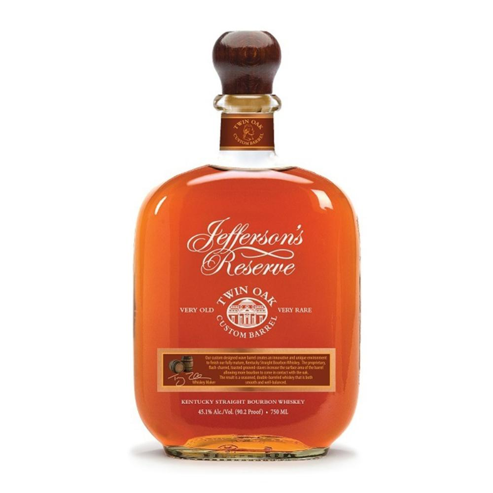 Jefferson's Twin Oak Custom Barrel Bourbon Bourbon Jefferson's