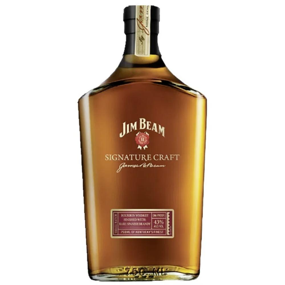 Jim Beam Signature Craft Finished with Rare Spanish Brandy Bourbon Jim Beam