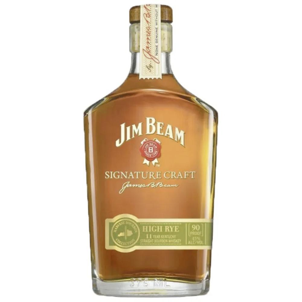 Jim Beam Signature Craft High Rye 375mL Bourbon Jim Beam