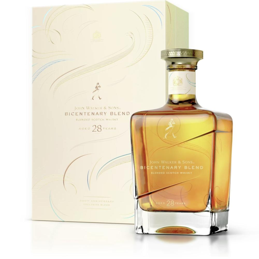 John Walker & Sons Bicentenary Blend Scotch Johnnie Walker